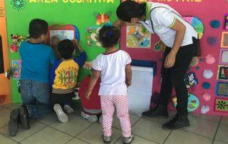 Trabajo con niños de Mejicanos
